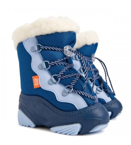 Детские дутики, сноубутсы - Demar SNOW MAR 4017-C, голубые