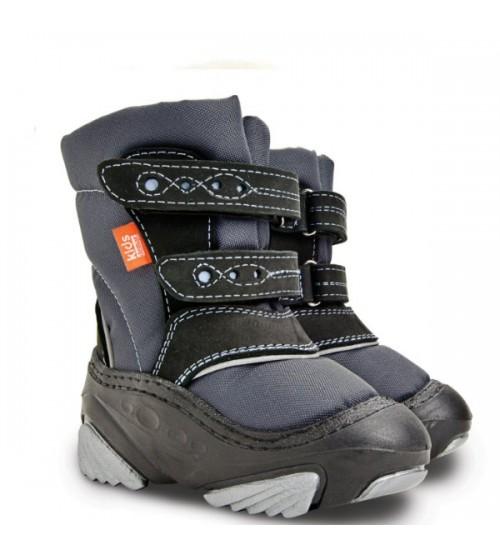 Детские дутики, сноубутсы - Demar SNOW STORM 4022-A, серые