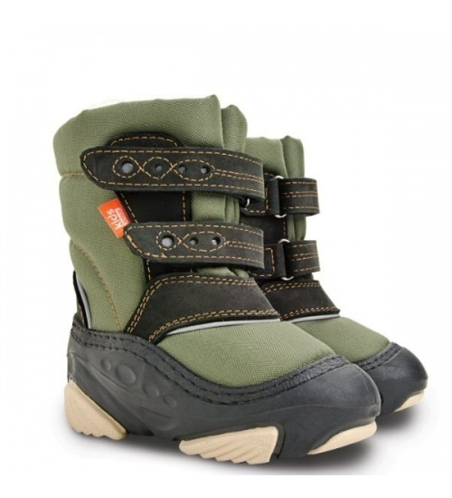 Детские дутики, сноубутсы - Demar SNOW STORM 4022-B, зеленые