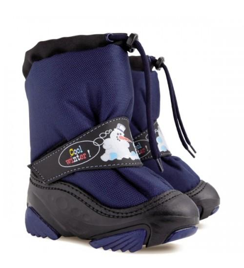 Детские дутики, сноубутсы - Demar SNOWMEN 4010-C, синие