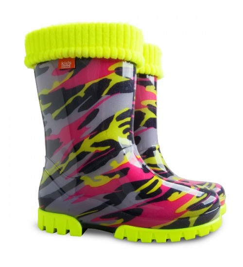 Сапоги Demar Twister Lux Fluo-e 0035 (28/29, 30/31, 32/33, 34/35) чулок из полиэстра