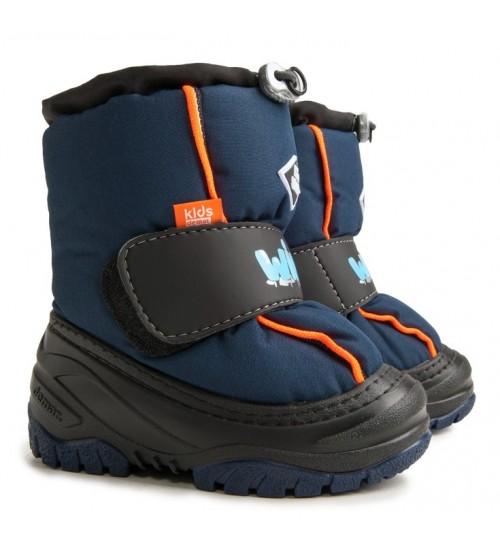 Детские дутики, сноубутсы - Demar ICE SNOW 4033-A, синие