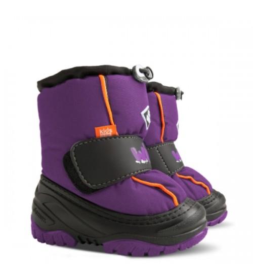 Детские дутики, сноубутсы - Demar ICE SNOW 4033-C, фиолетовые