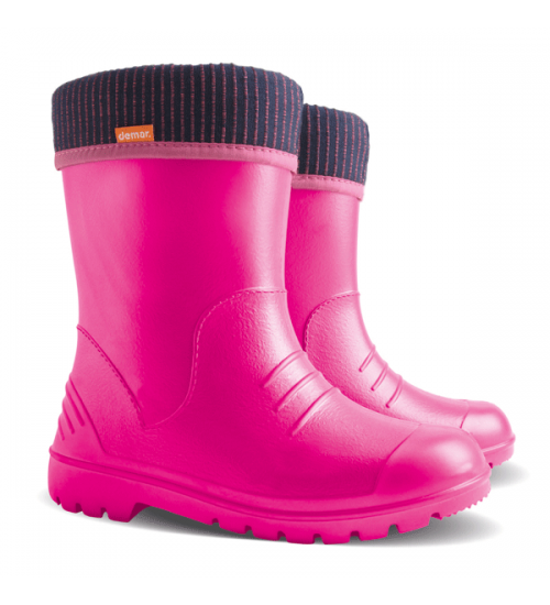 Резиновые сапоги - DEMAR DINO 0310-f, розовые