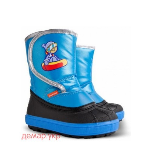 Детские дутики, сноубутсы - DEMAR SNOWBOARDER, демар сноубордер 1505-B, синие