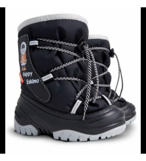 Детские дутики, сноубутсы - DEMAR HAPPY ESCIMO 4035-C, черные