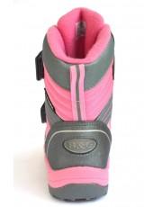 Термоботинки B&G HL209-811 платино-розовый