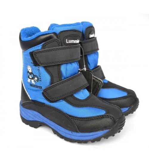Термоботинки Lummie WP002120s-blue WATERPROOF