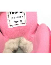 Термоботинки Tom M 3600f-fuchsia, зимние детские сапоги