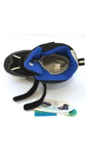 Термоботинки B&G ZTE20-64 черно-синий, сапоги на мембране
