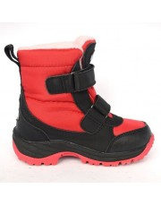 Термоботинки Lummie WP002114s-black-red WATERPROOF