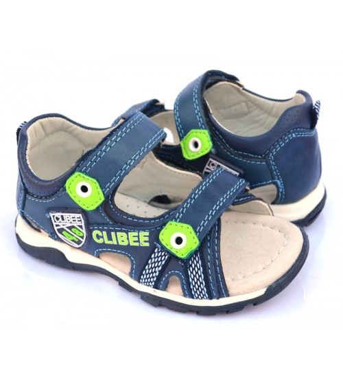 Босоножки Clibee F-254 Blue-Apple-Green 26-31р