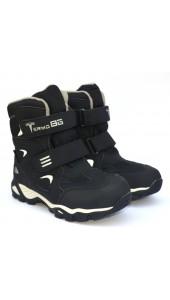 Термоботинки B&G ZTE20-108 черный, сапоги на мембране