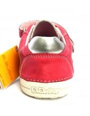 Туфли D.D.Step 036-13-EL Dark Pink кожаные