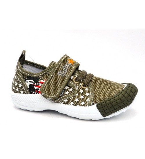 Мокасины SUPER GEAR A9356 khaki