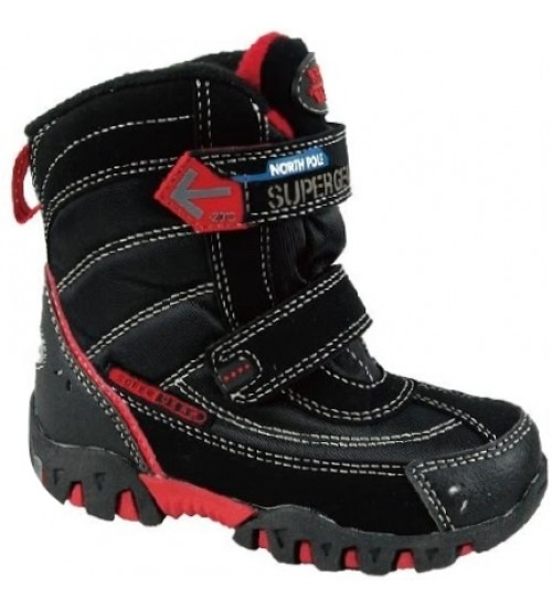 Термоботинки SUPER GEAR B207 black/red