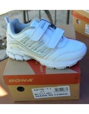 Кроссовки BONA 687B White-Grey 31-36р