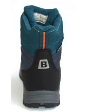 Термоботинки B&G EVS196-115 черно-синий