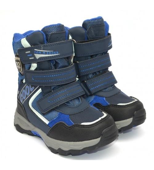 Термоботинки Tom M 5791c-blue, зимние детские сапоги
