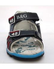 Босоножки B&G BG180-503 синие
