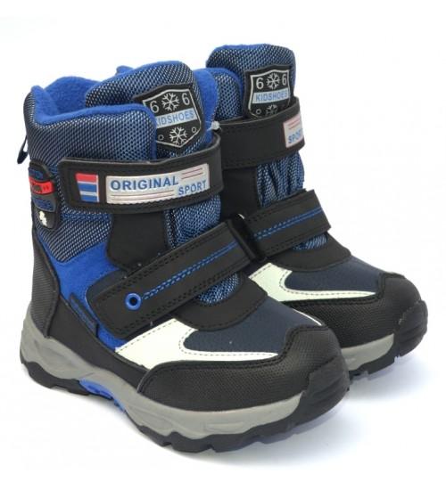 Термоботинки Tom M 5793c-blue, зимние детские сапоги