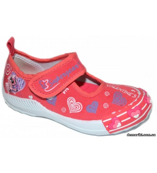 Мокасины SUPER GEAR A8960 pink