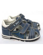 Босоножки B&G LD180-600 синий джинс