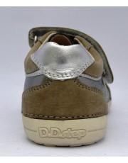 Туфли D.D.Step 036-18-BL-1 серебристо-оливковые