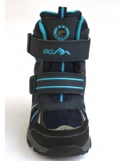 Термоботинки B&G EVS196-106 черно-голубой