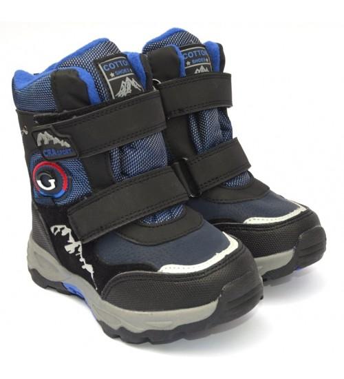 Термоботинки Tom M 5796c-blue, зимние детские сапоги
